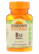 SUNDOWN B-12 500MCG 200TAB