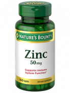 NATURAL'S BOUNTY ZINC 50MG 100 CAPLETS