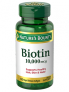 NATURE'S BOUNTY BIOTIN 10000MCG 120 TAB