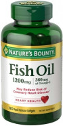 NATURE'S BOUNTY FISH OIL 1200MG 60CAP