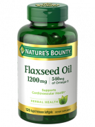 NATURE'S BOUNTY FLAXSEED OIL 1200MG 125 SOFTGELS