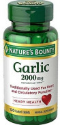 NATURE'S BOUNTY GARLIC 2000MG 120TAB