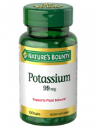 NATURE'S BOUNTY POTASSIUM 99MG 100CAPLETS