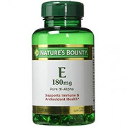 NATURE'S BOUNTY VITAMIN E-180MG 120CAP