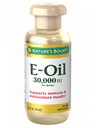 NATURE'S BOUNTY VITAMIN E-OIL 30.000IU 74ML
