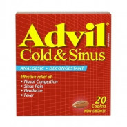 ADVIL COLD & SINUS 20 TAB