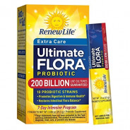 RENEW LIFE FLORA 200 BILLION PROBIOTIC 7 SCAHETS