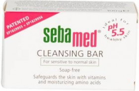 SEBAMED CLEANSING BAR 150G (SENS.&NORM. SKIN)