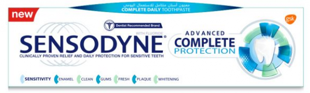SENSODYNE  ADVANCED COMPLETE PROTECTION 75 ML
