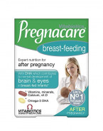 VITABIOTICS PREGNACARE BREAST FEEDING&NEW MUM 84 TABLETS