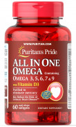 P&P ALL IN ONE OMEGA 60CAP