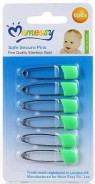 Momeasy Safe Secure Pins 6pk .