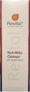 Revitol+ Rich Milky Cleanser .