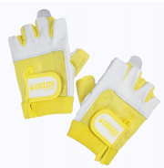 GRIZZLY WOMENS PAWS GLOVES YELLOW SIZE SMALL