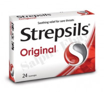 STREPSILS ORIGINAL RED 24 LOZ